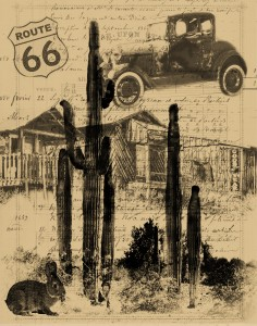Route 66 Collage 8x10